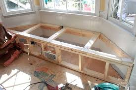 How To Build A Window Seat | building a window seat with storage in a bay window pretty handy