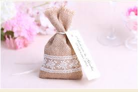 burlap favor bags wedding candy favor bag candy packing burlap favor bag party sweet