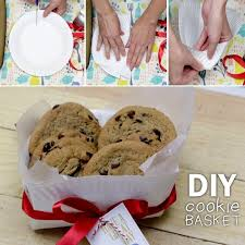 cookie basket how to fold cookie basket