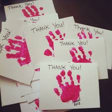 thank you cards for their parents shows respect and other core