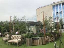 rooftop retreat at john lewis restaurants in marylebone london