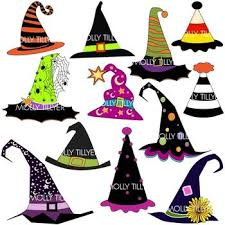 halloween clipart black and white 90 best witch hats images on pinterest halloween witches witch