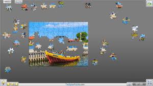 100 piece jigsaw puzzle kuznica port poland youtube