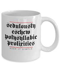 keep it simple funny coffee mug white 11oz ceramic cup u2013 12 step tees
