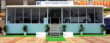 bmw bmw to cover 50 emerging markets with its mobile showrooms