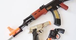 best black friday ak47 deals nice 3x toy guns elec ak 47 rifle w bayonet silver 9mm pistol