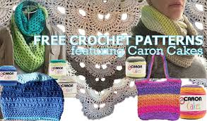 caron cakes yarn crochet patterns patterns kid