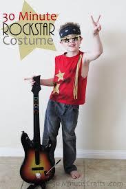 Rockstar Halloween Costumes Diy Boys Halloween Costumes Diy 30 Minute Rockstar Costume