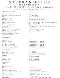 cover letter makeup artist resume templates free makeup artist