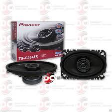 pioneer 4x6 pioneer 4x6 inch 4 x 6 car audio 2 way coax speakers pair 400w