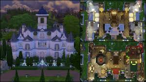 Carson Mansion Floor Plan by Sims 4 Mansion Layout Getpaidforphotos Com