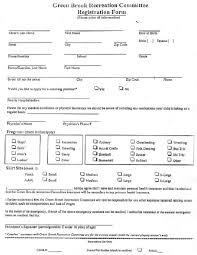 pdf registration form template for 5k 28 pages lp ff uw 5k