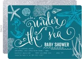 the sea baby shower cheap girl baby shower invitations invite shop