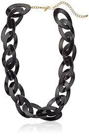 black link necklace images Kenneth jay lane black link necklace jewelry jpg