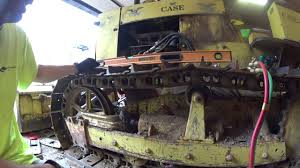 case dozer adjusting the track youtube