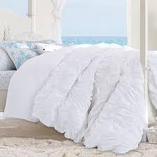 Ruched Bedding Kelly Slater Organic Tide Ruched Duvet Cover Sham Pbteen