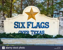 Dallas Texas Six Flags Usa Texas Dallas Six Flags Over Texas Amusement Park Roller