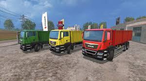 man grain gearbox u0026 trailer v1 0 truck farming simulator 2017