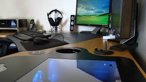 good gaming desk desk awesome best gaming desk accessories furniture