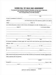6 horse bill of sale form samples free sample example format