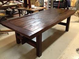 Rustic Wood Kitchen Tables - plain stunning wooden kitchen table rustic wood kitchen table