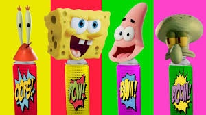 baby learn colors with wrong colors spongebob squarepants patrick