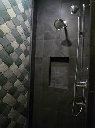 interesting black slate bathroom tile with additional home