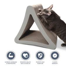 Cat Scratch Lounge 3 Sided Vertical Cat Scratching Post Modernize Your Home Petfusion