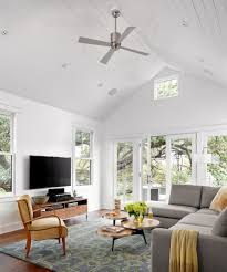 Cathedral Ceilings In Living Room by Cathedral Ceiling Lighting Patio Mediterranean With Hanging Tv
