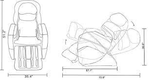 Osaki 4000 Massage Chair Osaki Os 3d Pro Cyber Zero Gravity Massage Chair Recliner