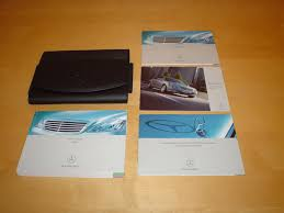 mercedes benz w221 s class owners manual handbook 2005 2011