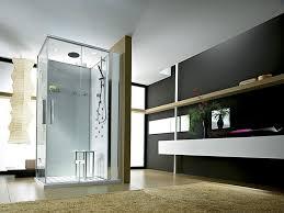 white laminated wooden base cabinets modern bathroom tile design