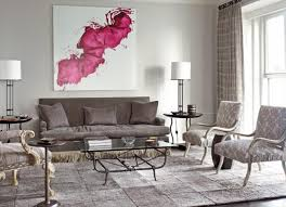 living room alluring grey living room ideas with wall murall and