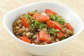 Salad Main Dish - easy lentil salad recipe mygourmetconnection