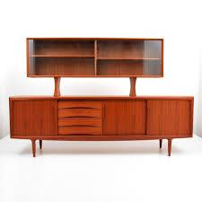 mid century danish modern sideboard cabinet by gunni omann the