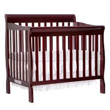 Dream On Me Portable Crib Mattress by Dream On Me Aden 4 In 1 Convertible Mini Crib Espresso Walmart Com