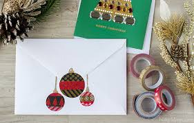 thank your support system diy ornament envelope seals