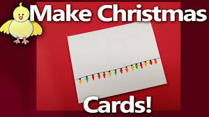 Christmas Invite Cards How To Make Handmade Christmas Cards Or Party Invitation