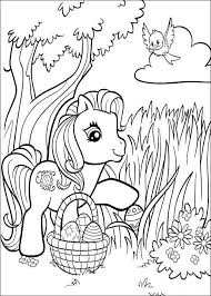 pony printable coloring pages