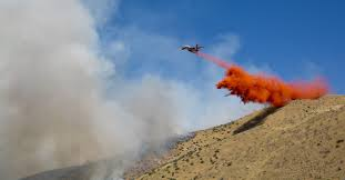 Wild Fires In Idaho And Montana by Crews Working To Bolster Fire Lines On Blaze East Of Boise The