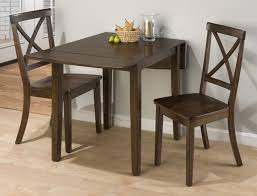 Oak Drop Leaf Dining Table Rectangular Drop Leaf Kitchen Table Brown Rug White Rustic Chair