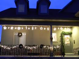 Outdoor Christmas Lights Ideas by Sparkling Christmas Garland Lights Decoration Ideas Interior
