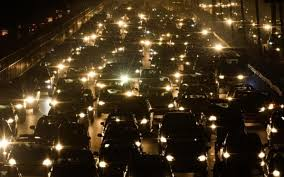 los angeles the world s worst traffic jam is currently in