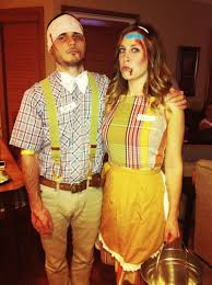 rugrats halloween costumes jack and jill went up the hill to fetch a pale of water couples