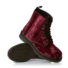 doc martens womens boots australia dr martens marvel crushed velvet boots cherry free delivery