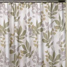 Themed Shower Curtains Creative Bath Shadow Leaves 72 In Botanically Themed Shower
