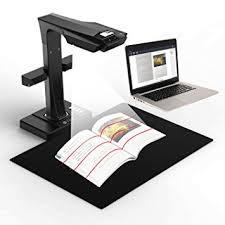 petit scanner de bureau czur et16 plus scanner pour livres et documents avec ocr