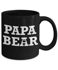 mug town papa bear coolest coffee cups