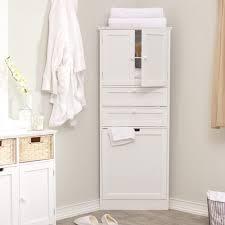 Bathroom Storage Drawers by Bathroom Modern White Wooden Bathroom Cabinet With Storage