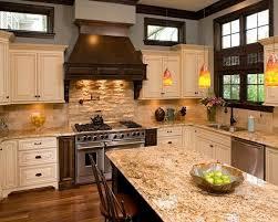 Best  Venetian Gold Granite Ideas On Pinterest Off White - Kitchen backsplash ideas with cream cabinets